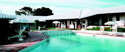PISCINAS EXTERIORES Apartamentos HLG Binivell Park